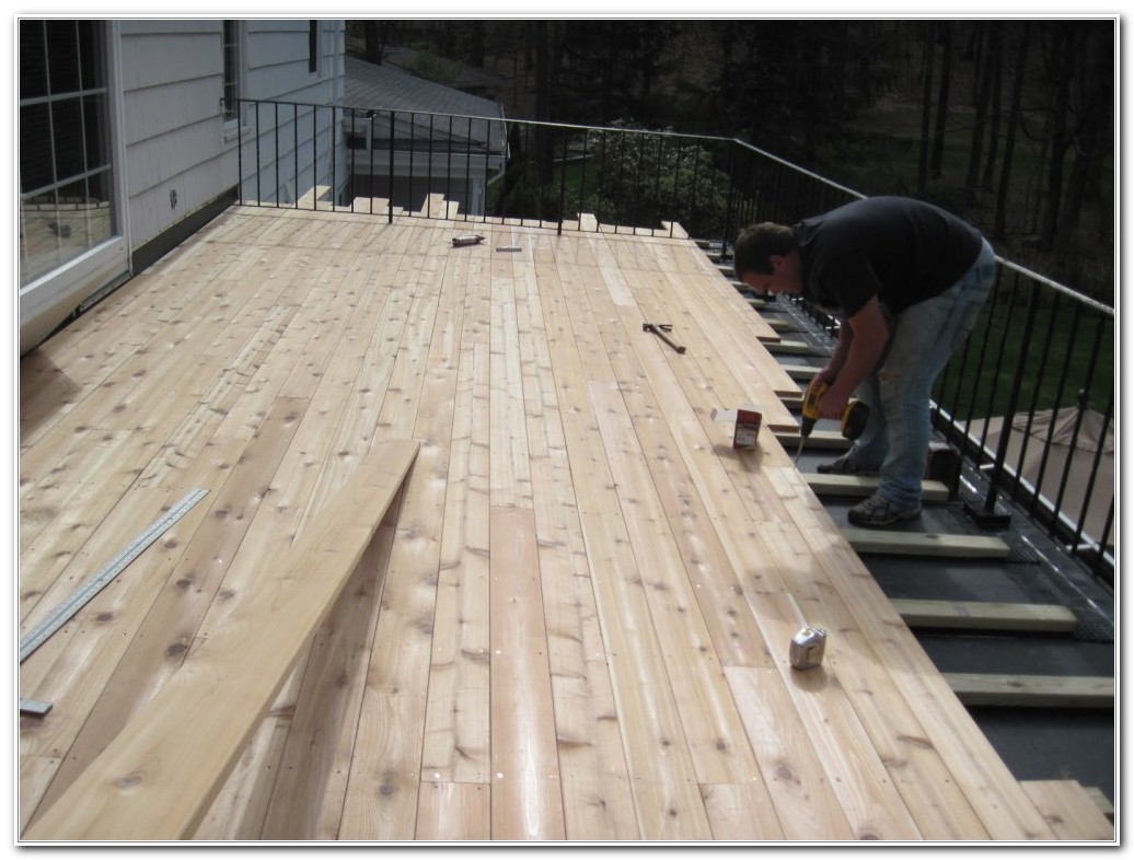 Building A Rooftop Deck