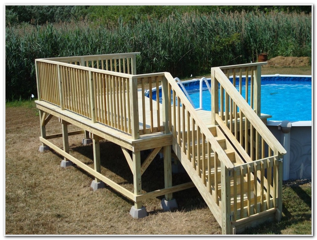 Building Pool Decks Above Ground
