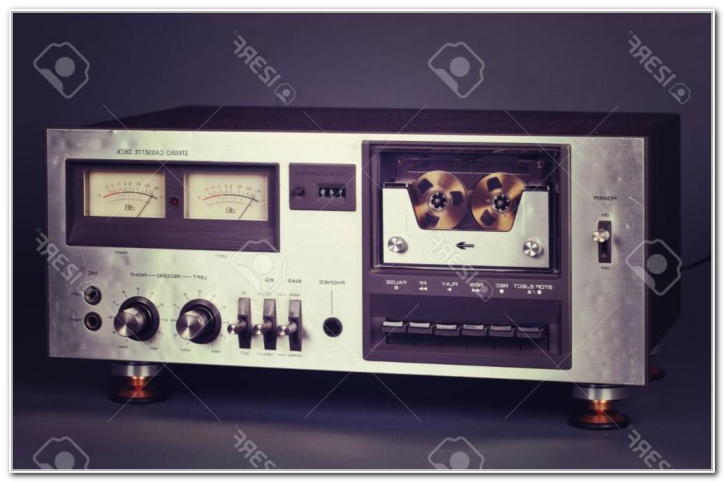 Cassette Tape Deck Player