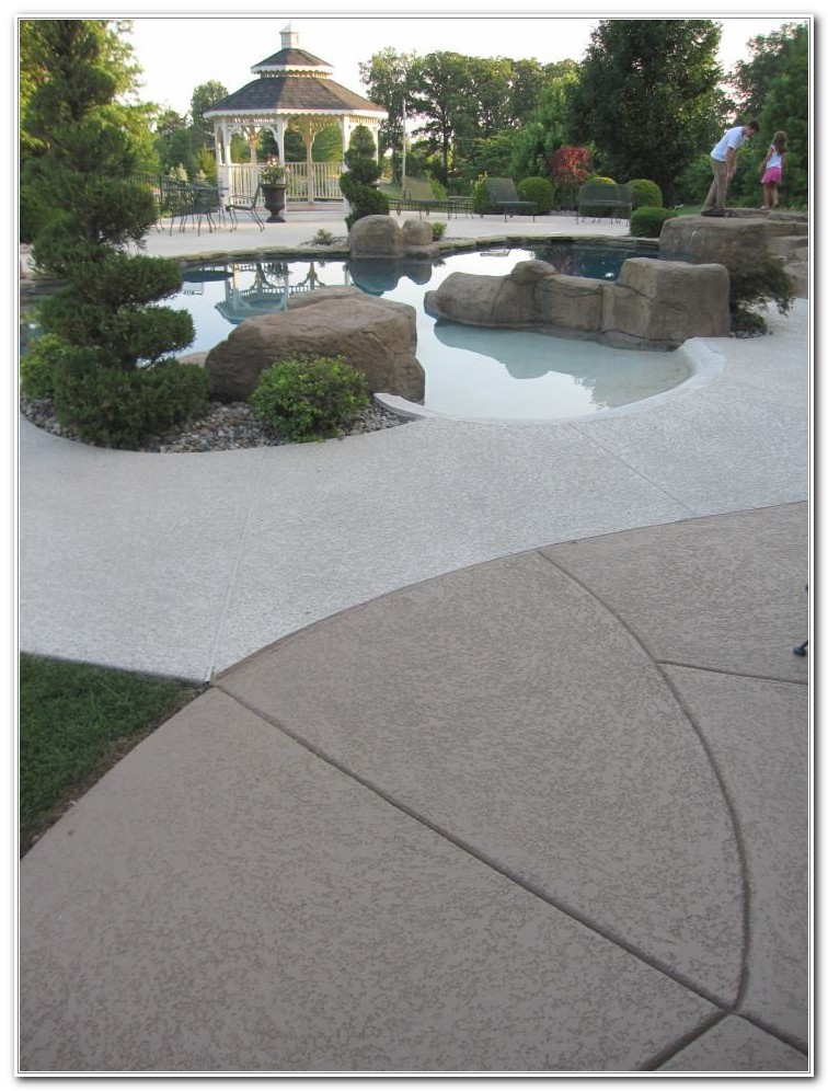 Concrete Pool Deck Coating Products