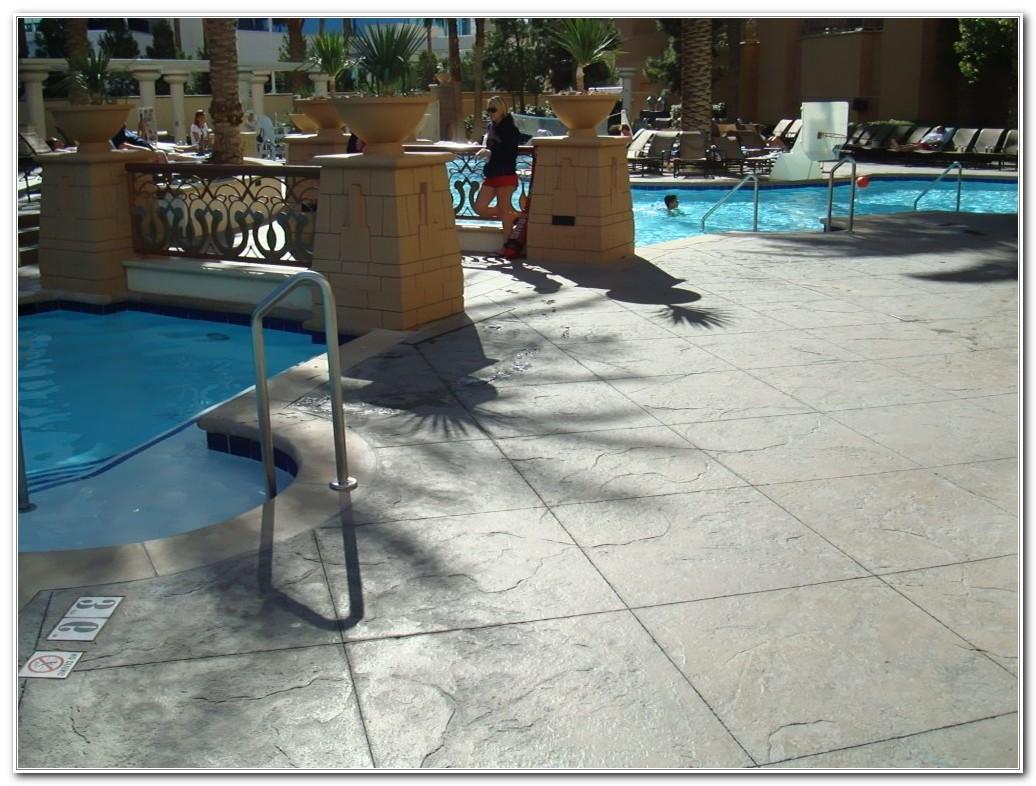 Concrete Pool Deck Finish