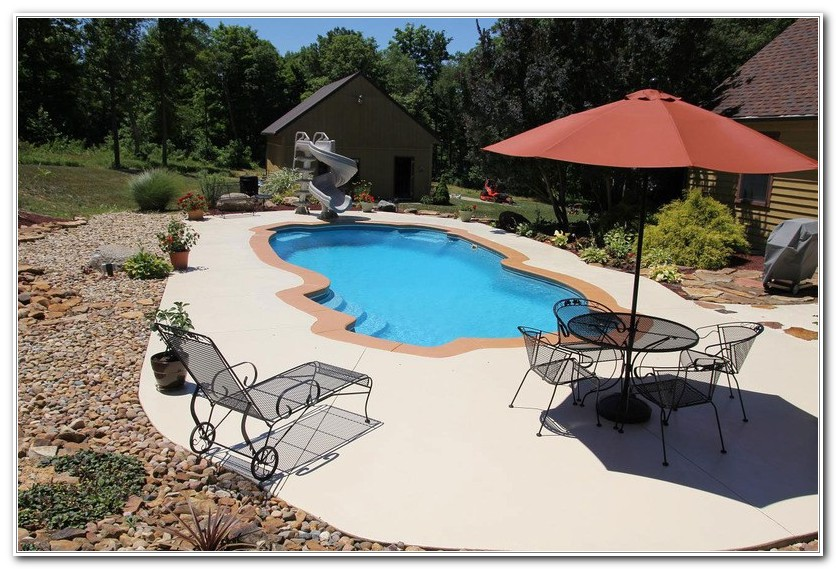 Concrete Pool Deck Paint