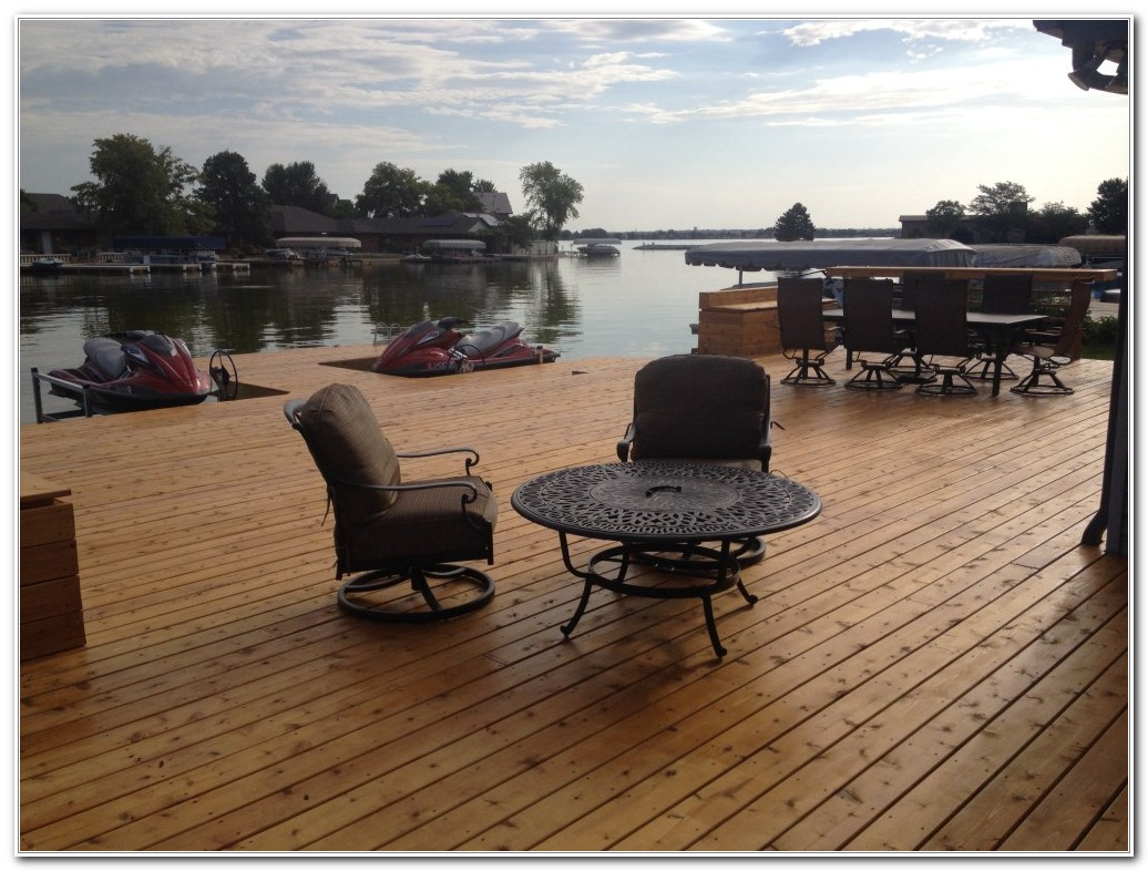Deck And Dock Patio Furniture