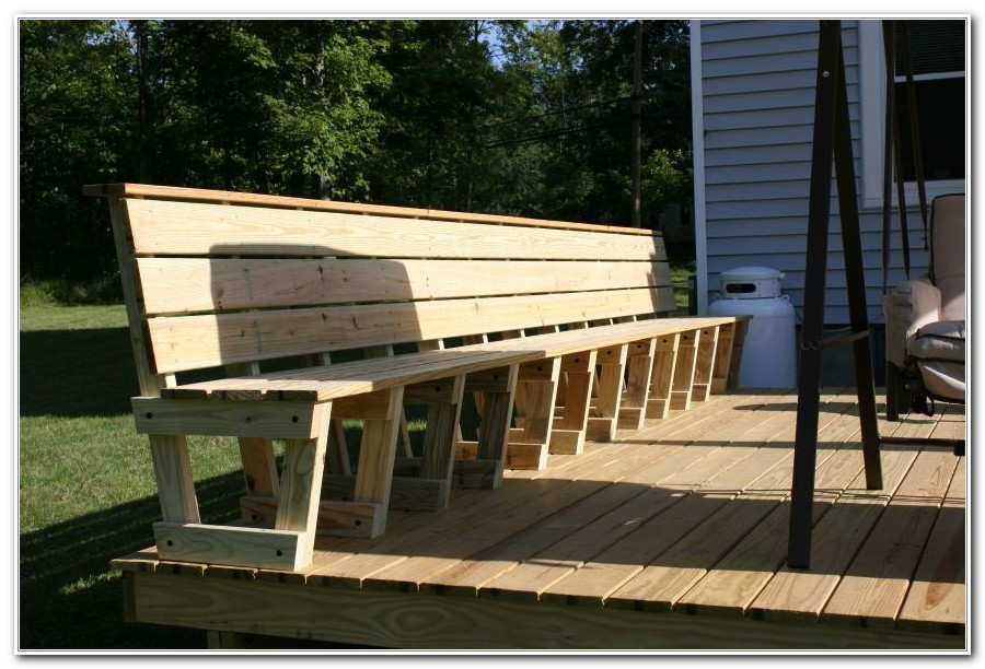 Deck Bench Brackets Menards Decks Home Decorating