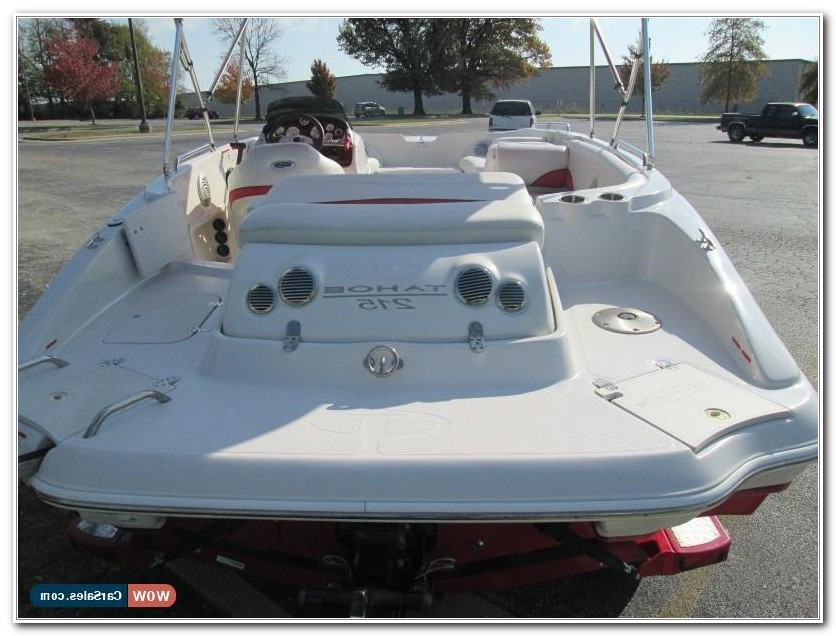 Deck Boat For Fishing