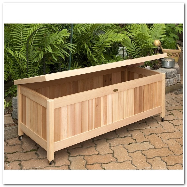 Deck Box For Patio Cushions
