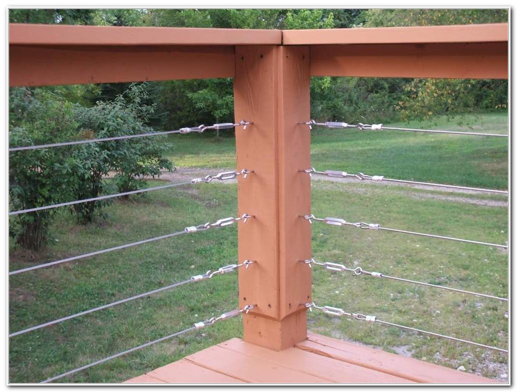 Deck Cable Railing Kits