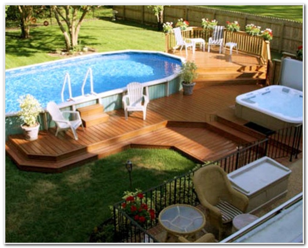 Deck For Above Ground Pool Plans