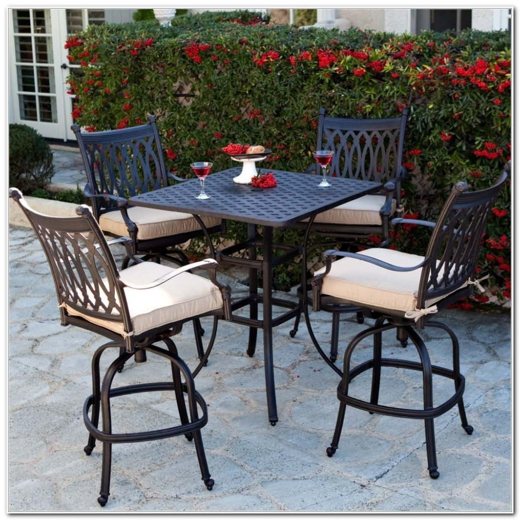 Deck Height Patio Furniture