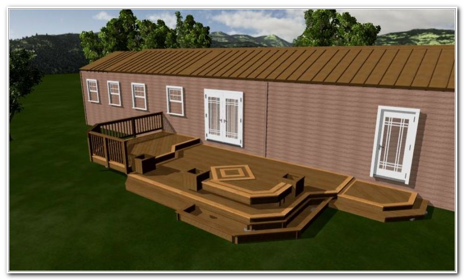Deck Ideas For Manufactured Homes