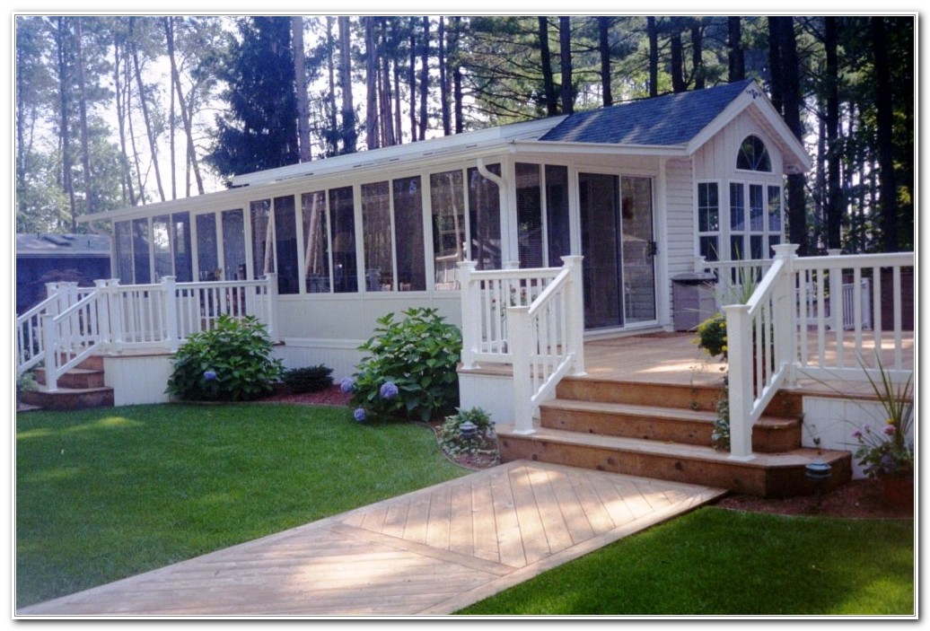 Deck Ideas For Mobile Homes