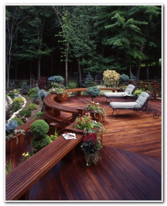 Deck Ideas For Small Backyards Pictures