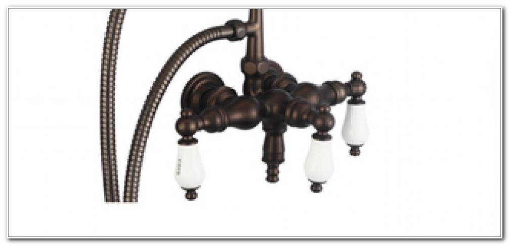 Deck Mount Tub Faucet 7 Center