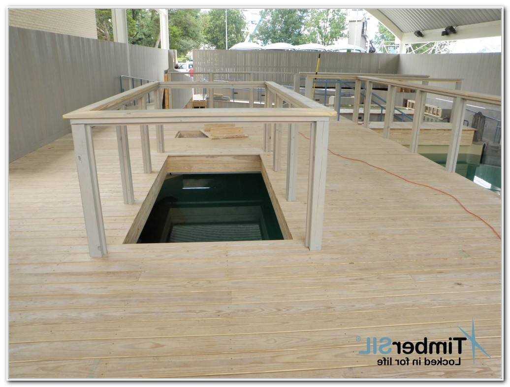 Deck Non Pressure Treated Wood