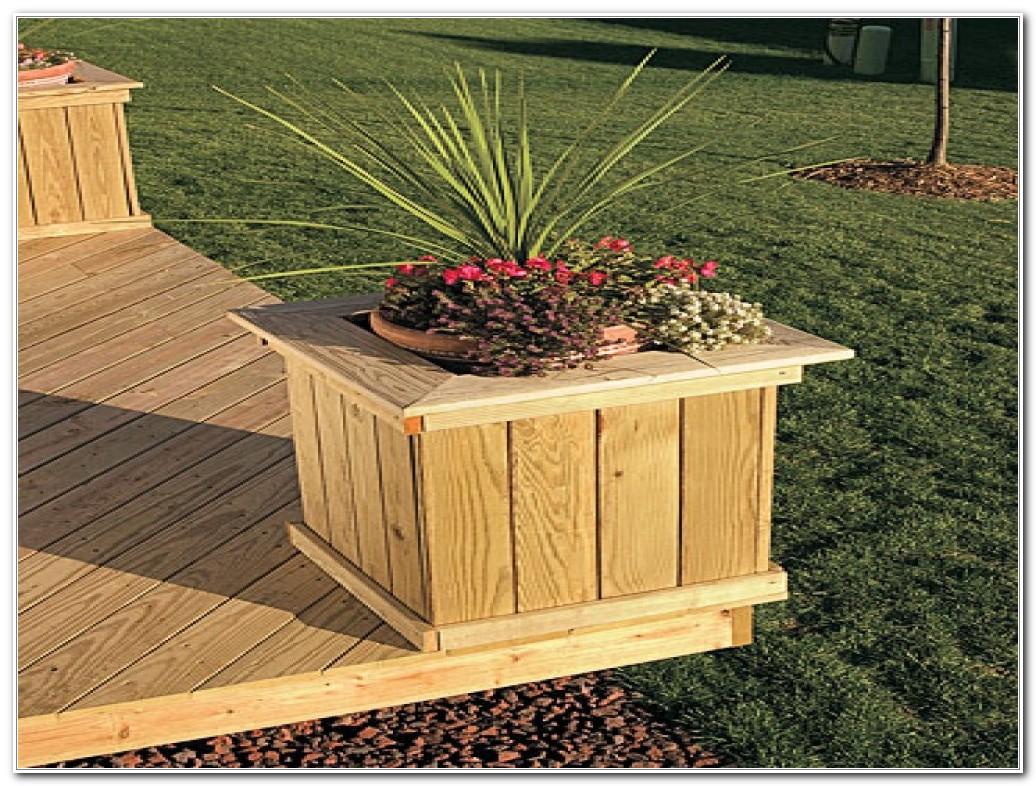 Deck Planter Box Diy