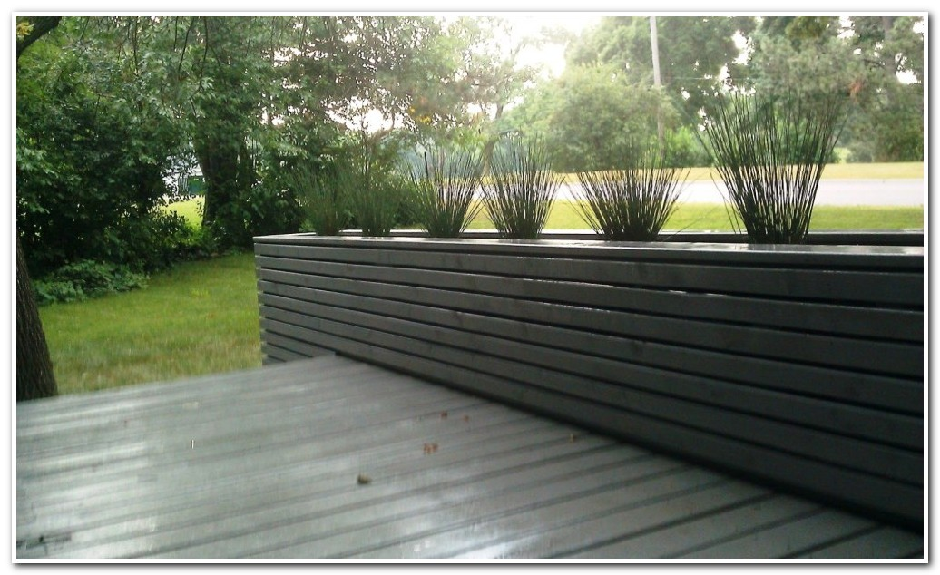 Deck Planters For Privacy