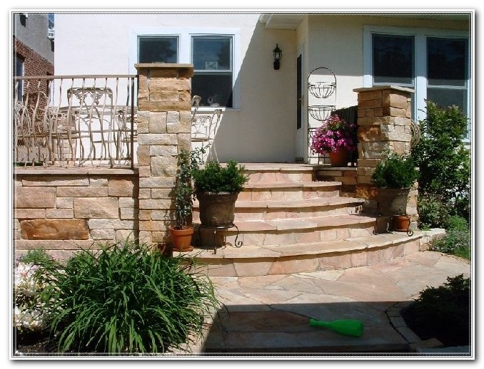 Deck Post Covers Stone