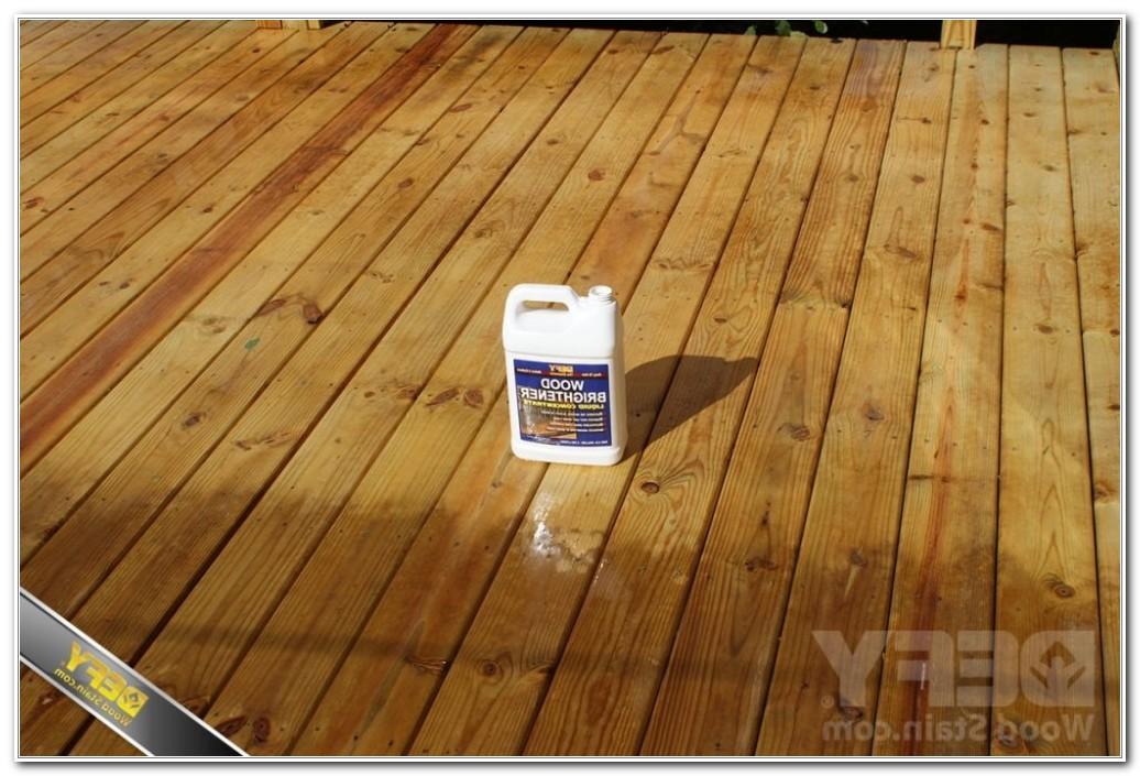 Deck Pressure Treated Wood Stain
