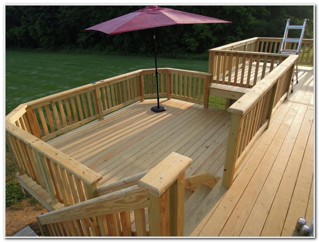 Deck Pressure Treated Wood