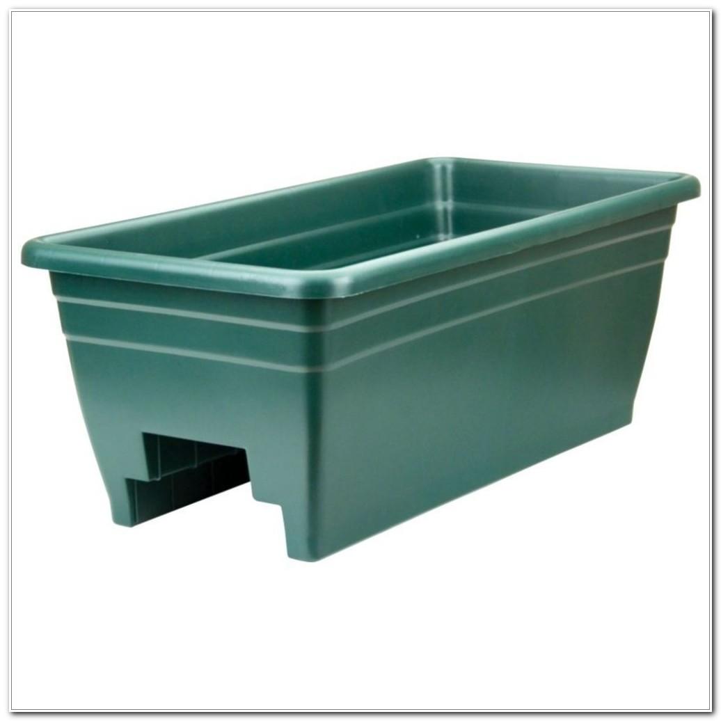 Deck Rail Planter Box Diy
