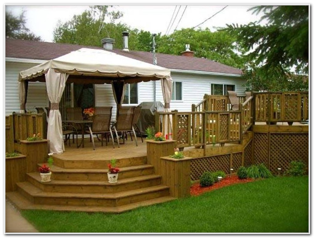 Deck With Roof Ideas