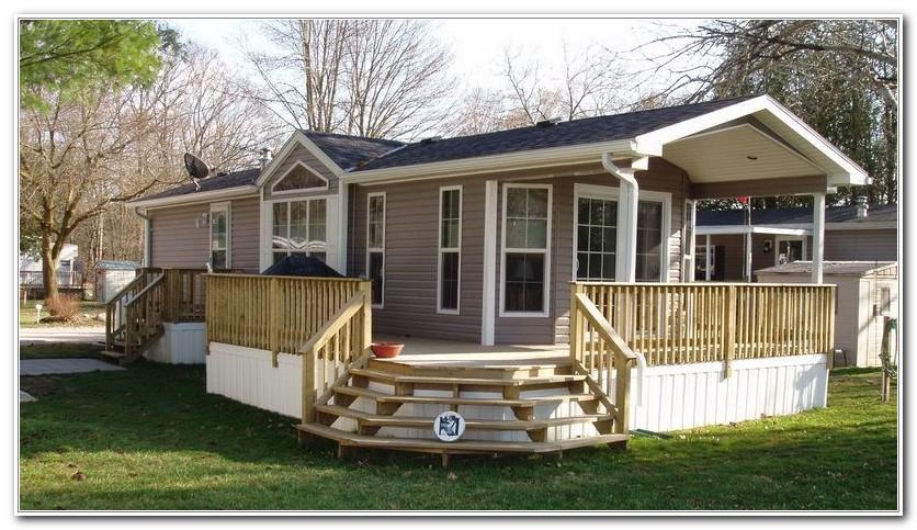 Decks For Mobile Homes Ideas