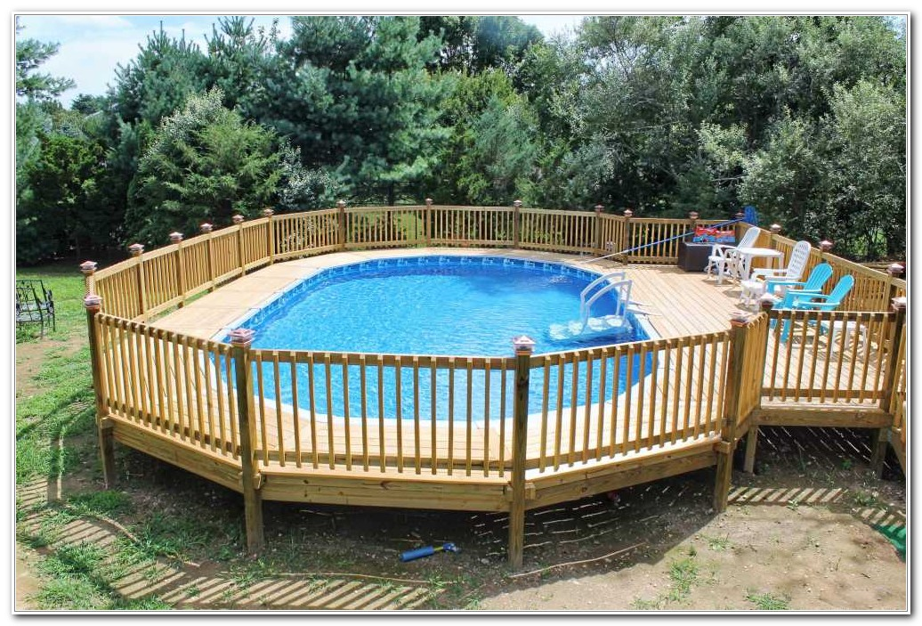Design Pool Decks Above Ground