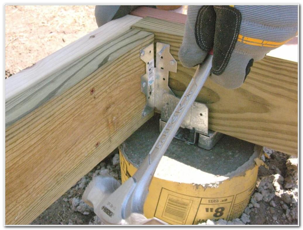 Diy Build A Deck