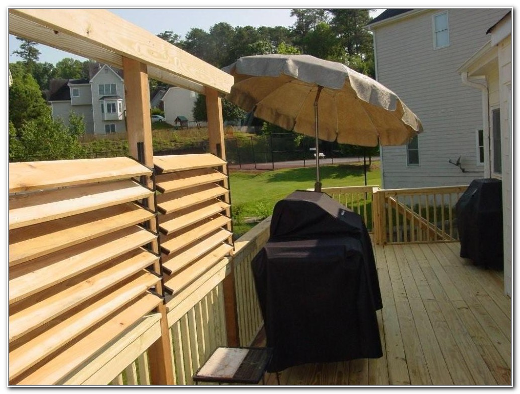 Diy Privacy Fence For Deck