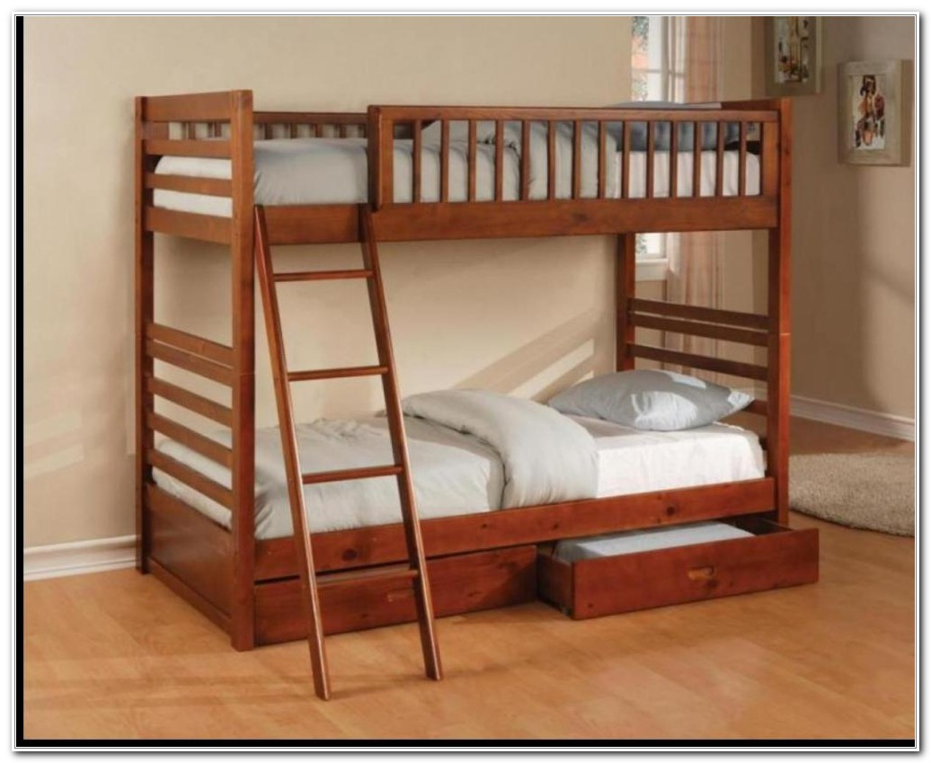 Double Deck Bed Design For Adults
