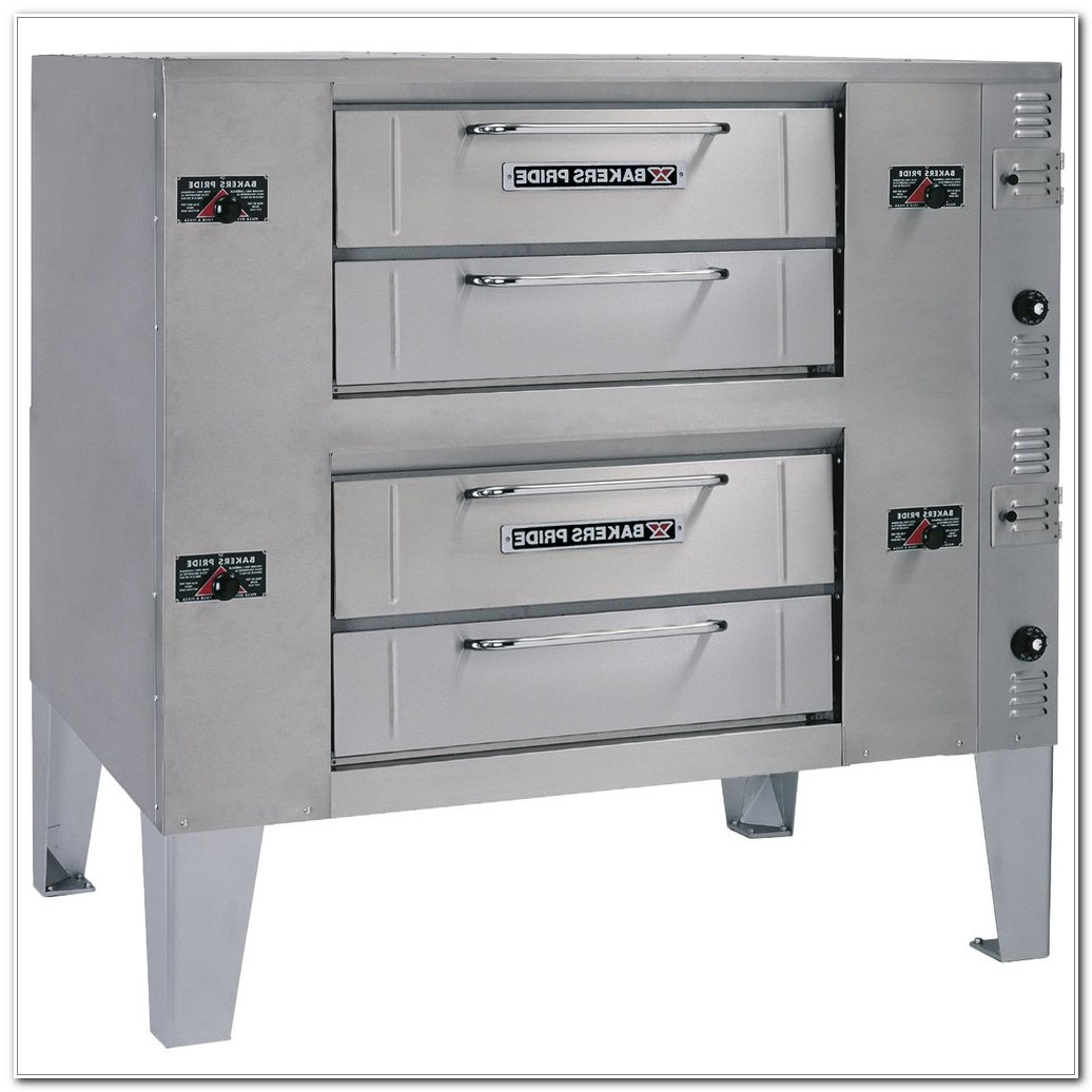 Double Deck Gas Pizza Oven