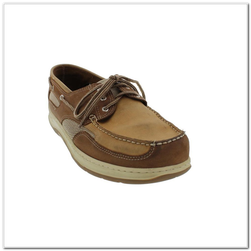 Extra Wide Boat Shoes
