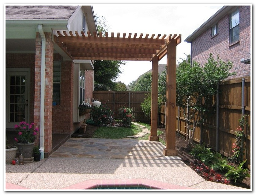 Free Pergola Designs For Decks
