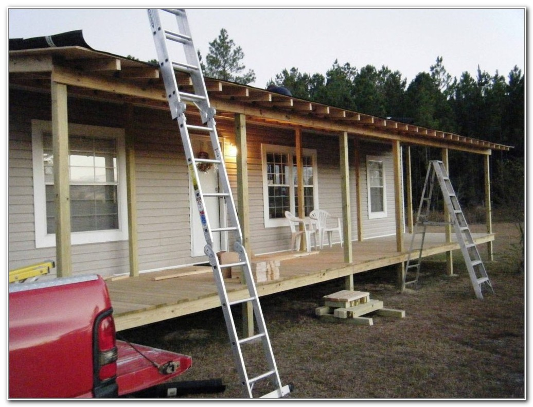 Front Deck For Mobile Homes