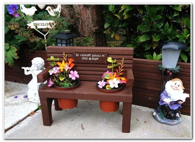 Garden Bench Made From Decking