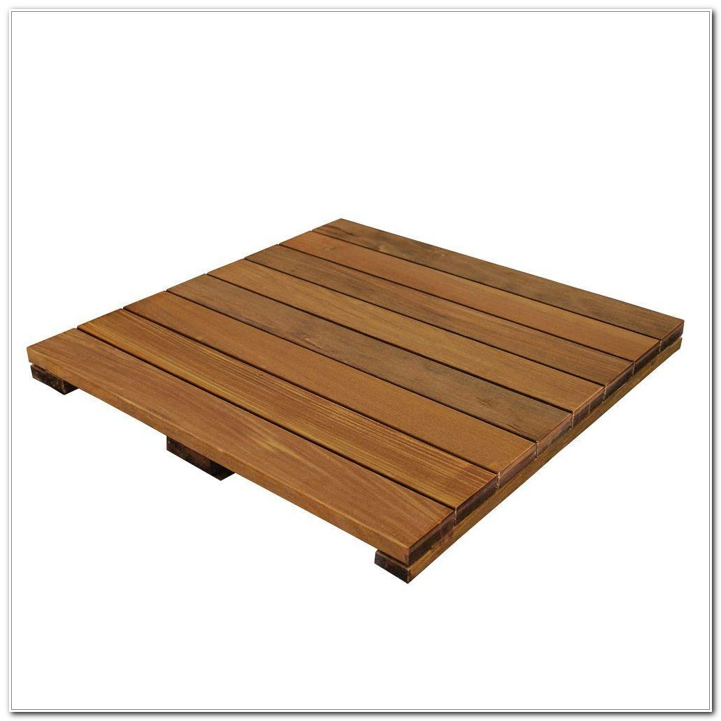 Home Depot Wood Decking Tiles