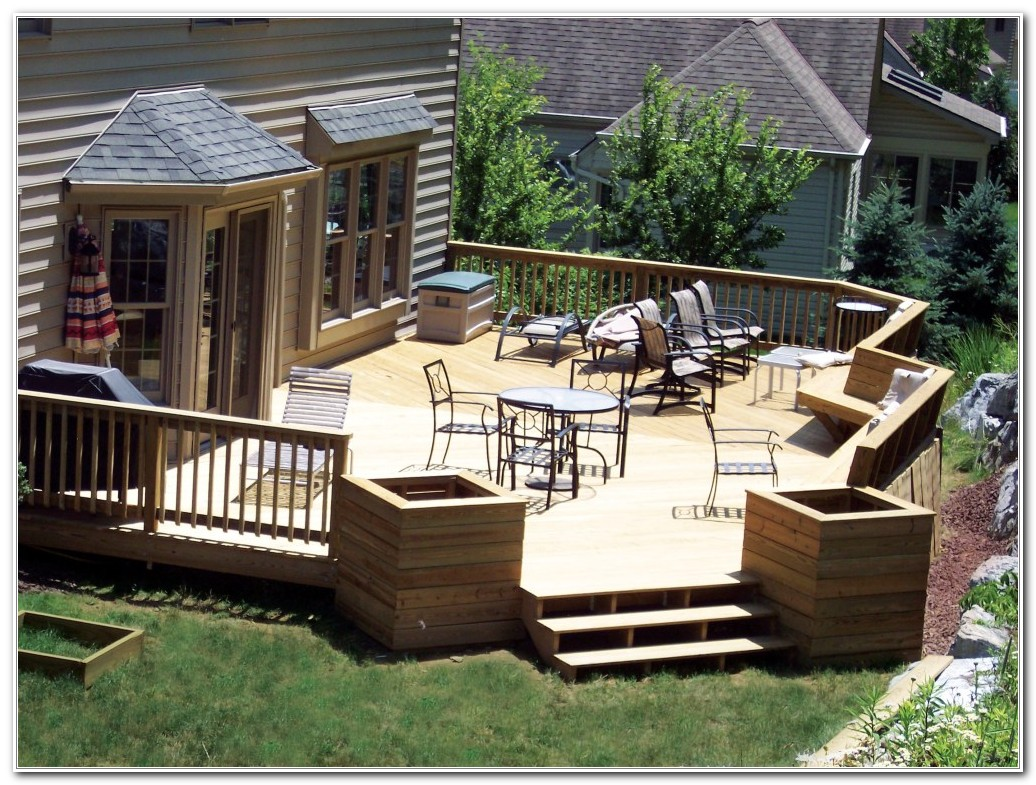 Ideas For Deck Designs
