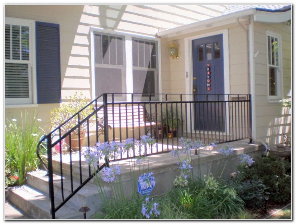 Iron Railings For Outdoor Stairs