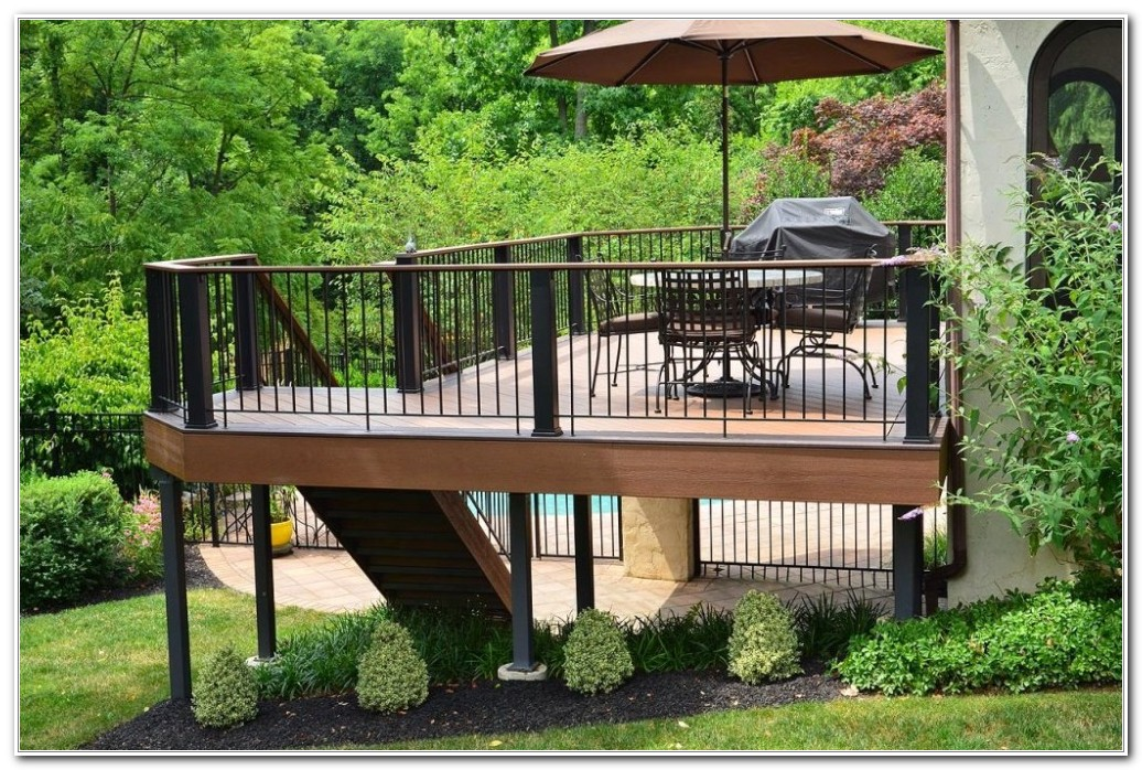 Landscape Design Ideas For Deck