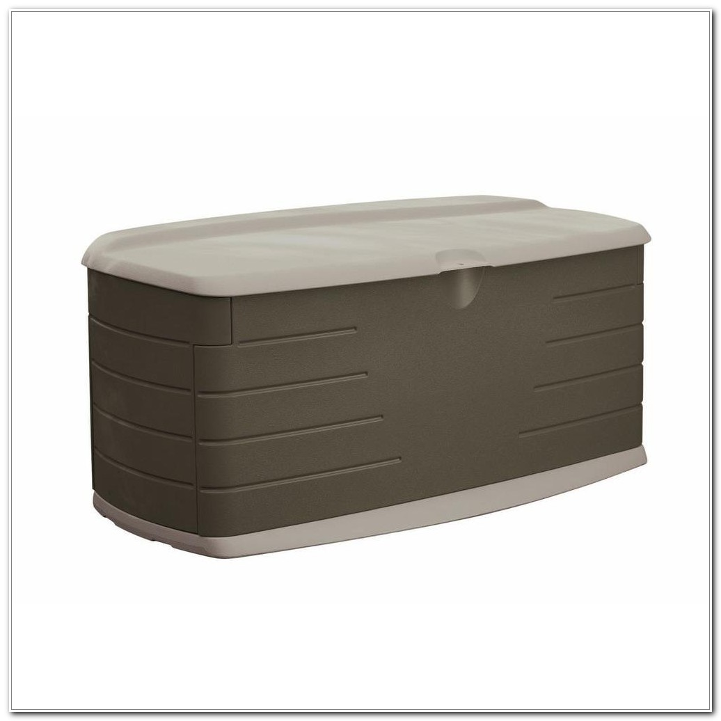 Large Deck Box With Seat