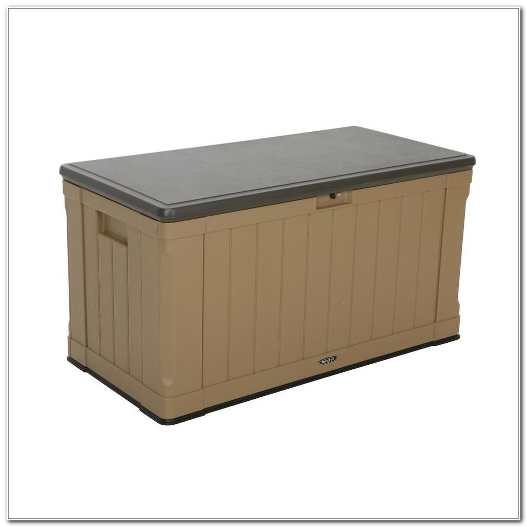 Lifetime Outdoor Deck Storage Boxes