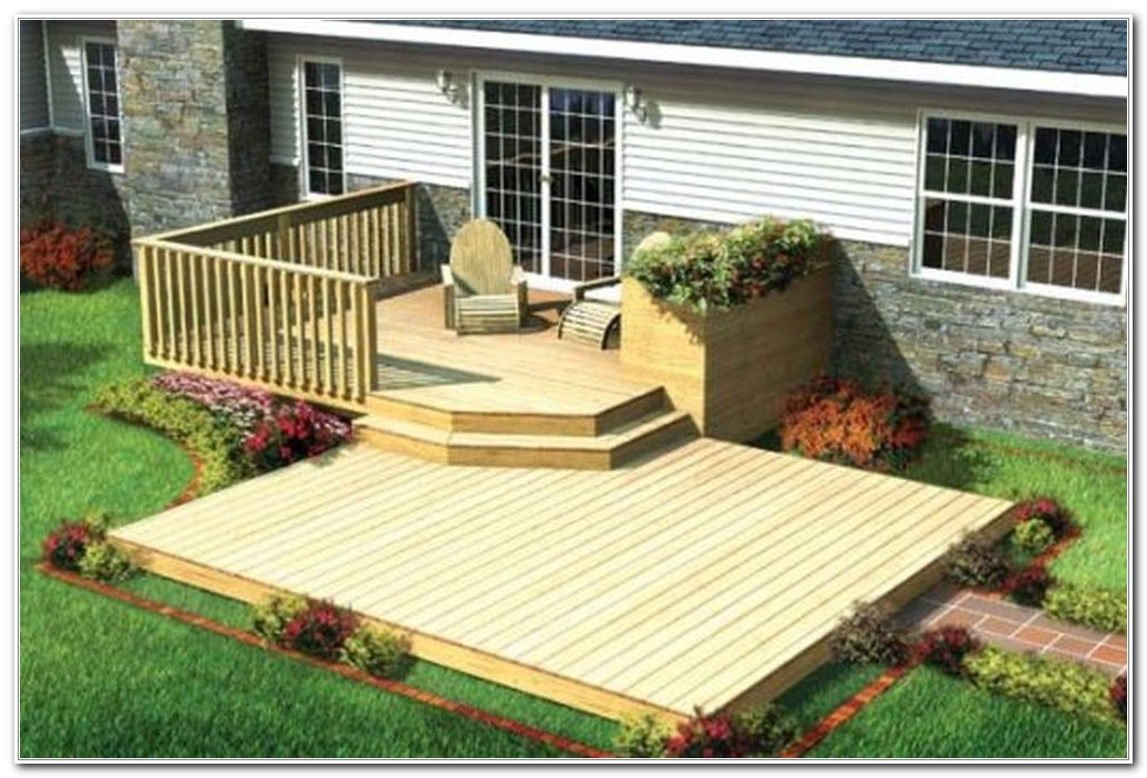 Modern Backyard Deck Design Ideas