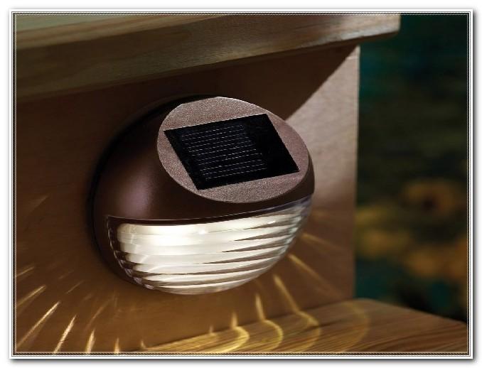 Noma Solar Led Deck Post Light