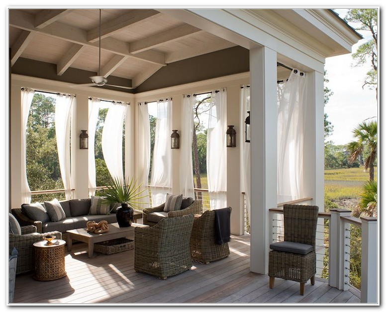 Outdoor Curtains For Deck