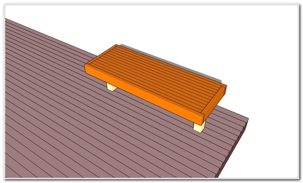 Outdoor Deck Bench Plans