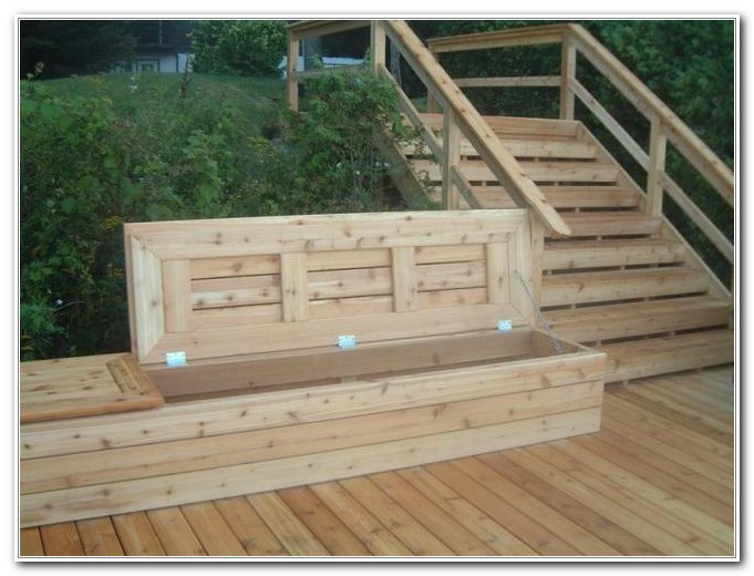 Outdoor Deck Bench Woodworking Plans