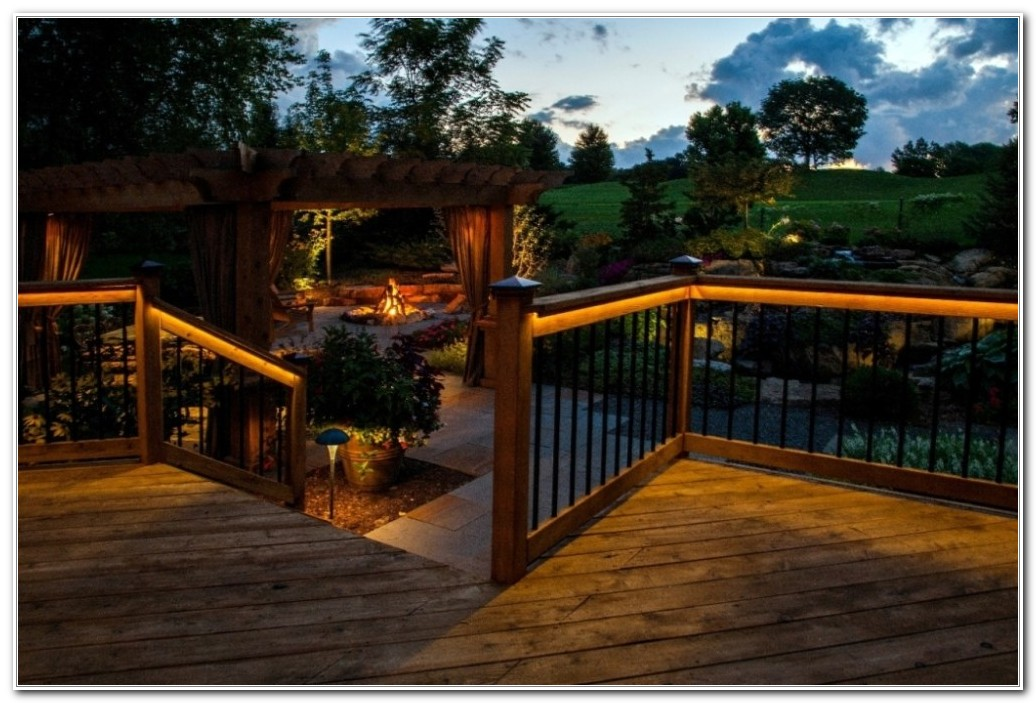 Outdoor Deck Lighting Led