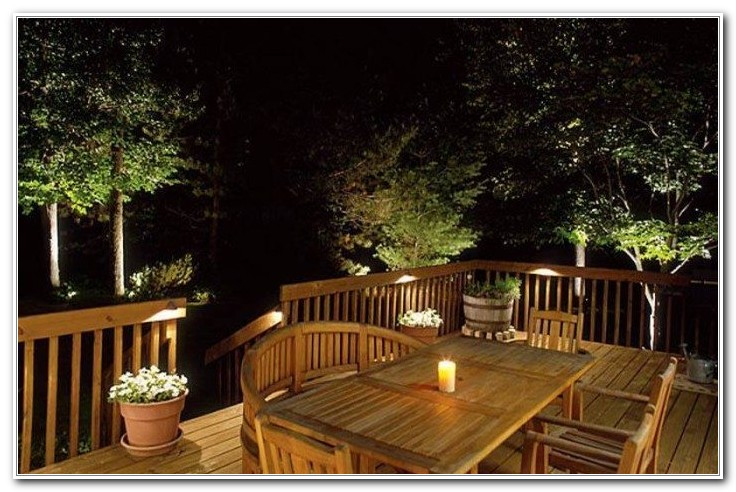 Outdoor Deck Rope Lights