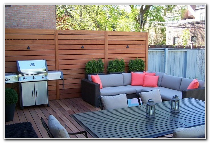 Outdoor Privacy Panels For Decks