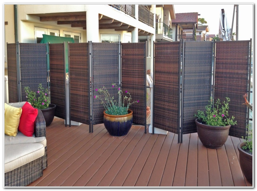Outdoor Privacy Shades For Decks